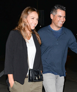 Jessica Alba and Cash Warner are All Smiles as They Step Out For Date Night