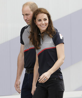 Kate Middleton and Prince William Don Matching Polos for America's Cup