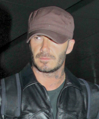 See David Beckham's Latest Effortlessly Cool Airport Look
