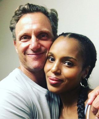Pregnant Kerry Washington Is Back to Work on Scandal—See Her New Snaps from Set