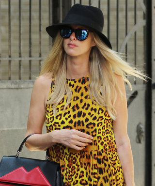 Nicky Hilton Rocks a Daring Cheetah Print Dress for Errands in N.Y.C.