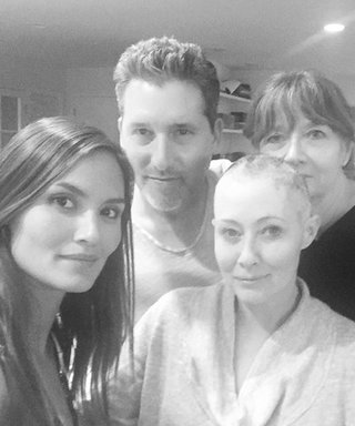 """Shannen Doherty Thanks Her Support System After an """"Impossibly Tough Day"""" of Breast Cancer Treatment"""