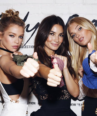Stella Maxwell, Lily Aldridge, and Elsa Hosk Launch New Victoria's Secret Lingerie Collection