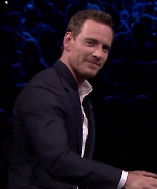 Watch Michael Fassbender Get Freezing Cold Water Dumped Down His Pants