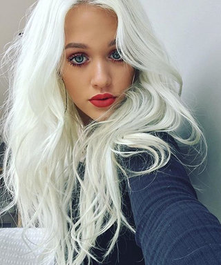 Lottie Tomlinson's Latest Mani Is as Good as Gold