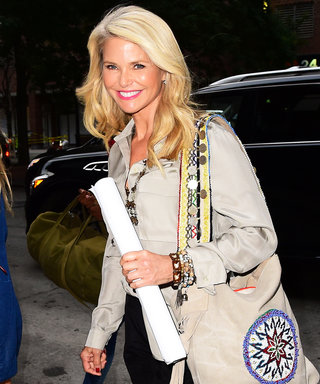 An Absolutely Ageless Christie Brinkley Goes Casual-Chic in N.Y.C.