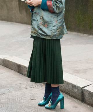 10 Chic Pleated Skirts For Back-to-School and Beyond