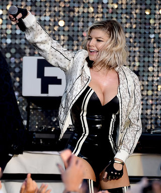 Fergie Looks Fit and Fierce in a Latex Bodysuit at Her L.A. Concert