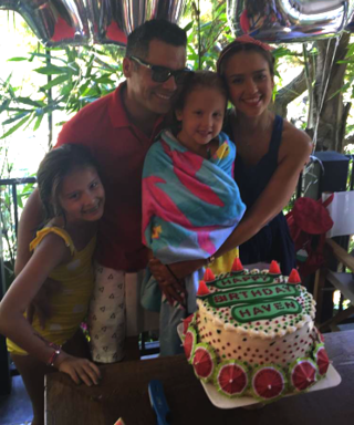 Jessica Alba Celebrates Daughter Haven's 5th Birthday with Watermelon-Themed Bash