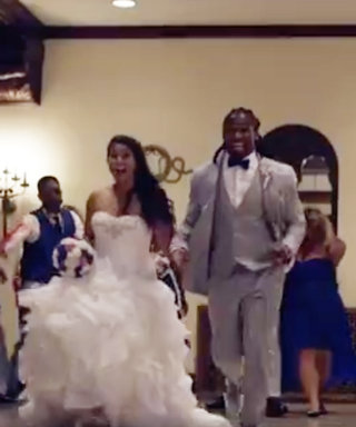 NFL's DeAngelo Williams Threw the Ultimate Walking Dead-Themed Wedding