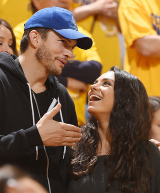 Ashton Kutcher and Mila Kunis's 1-Year-Old Daughter Already Has a Potty Mouth