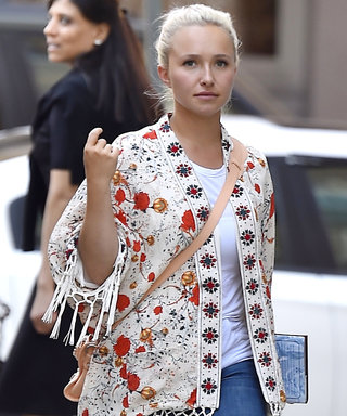 Hayden Panettiere Glows in Boho Chic Look While Out in N.Y.C.