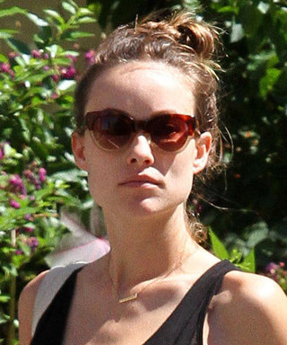 Pregnant Olivia Wilde's Monochromatic Look Will Inspire You to Wear All Black This Summer