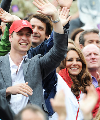 Prince William, Kate Middleton, and Prince Harry Cheer on Britain's Olympic Team