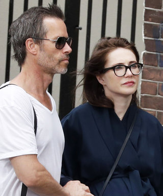 Pregnant Carice van Houten Looks Nothing Like Melisandre in Her Navy Wrap Coat