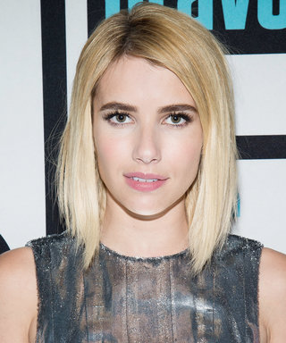 Emma Roberts (Almost) Bares It All for Mario Testino's #TowelSeries