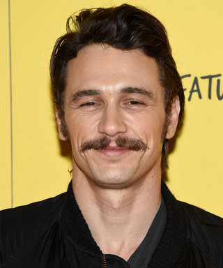 Stop What You're Doing and Look at James Franco's Rainbow Ombré Hair