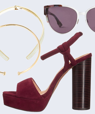 Chokers! Platforms! Sunglasses! Tune In Right Now to Shop All the Best Fall Accessories Live from InStylexStyle Code Live