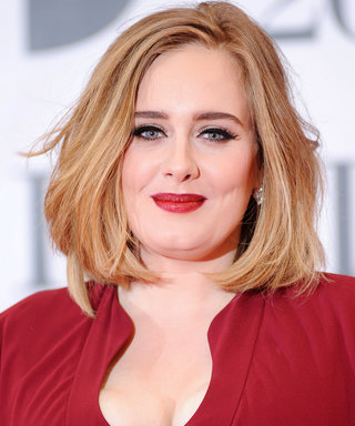 Now We Really Know Adele Doesn't Wear a Cat Eye 24/7