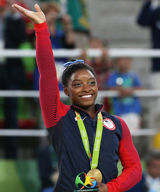 Simone Biles Takes Home All-Around Olympic Gold: See the Stars' Joyful Reactions