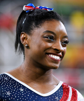 Simone Biles's Eyeliner Game? Just as Strong as Her Gymnastics Game