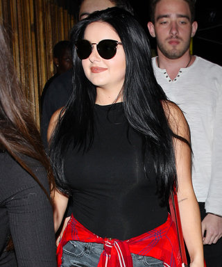 Ariel Winter Rocks Cutoff Shorts and Over-the-Knee Boots for Night Out in L.A.