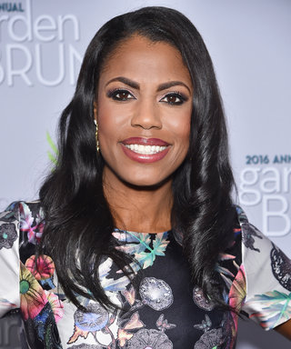 Omarosa's Massive Rock Is an Engagement Ring, Wedding Band, and Anniversary Ring—All in One!