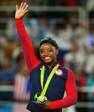Olympic Gymnast Simone Biles Finally Gets a Kiss from Her Longtime Crush Zac Efron