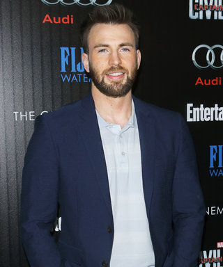 Chris Evans's Adorable Dog Had the Best Time Watching Him Do Pushups—and So Did We