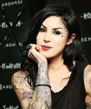 Kat Von D Looks Totally Different Without Her Signature Black Hair