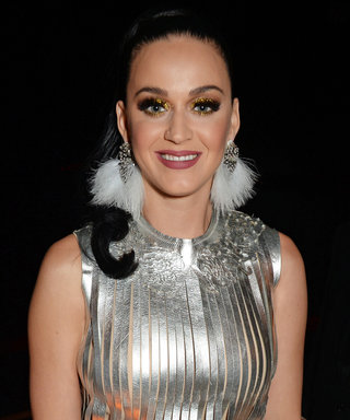 Katy Perry Sported the High Ponytail of All High Ponytails