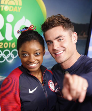 "Zac Efron Explains Why He Flew to Rio to Surprise Simone Biles and the Final Five: ""They Have Such Heart"""