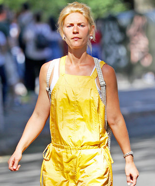 Claire Danes's Shiny Yellow Jumpsuit Must Be Seen to Be Believed