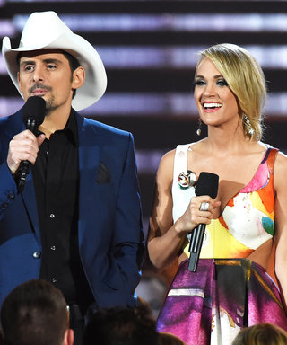 "Carrie Underwood and Brad Paisley Prepare to Host Their Ninth CMA Awards: ""There's a Lot of Trust Between Us"""