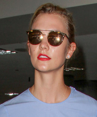 Karlie Kloss Shows Off Her Killer Abs in Two Different Crop Top Looks