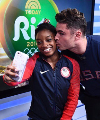Zac Efron Has Olympic-Level Competition for Simone Biles's Heart