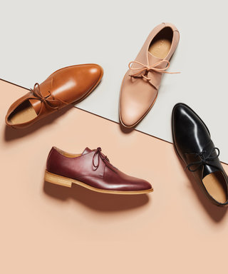 Meet Everlane's New Shoe: The Modern Oxford That We're Already Obsessed with