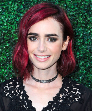 Lily Collins Dyes Her Hair Back to Brown