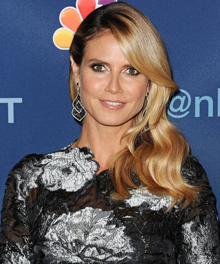 Heidi Klum Test Drives Her Sexy New Swimwear Line While on Tropical Vacation