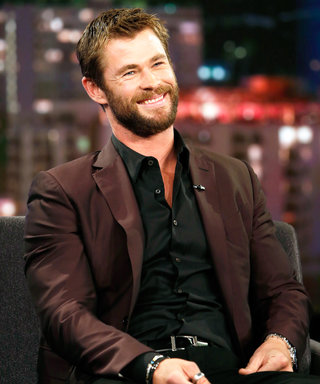 See Chris Hemsworth's Son Tristan Adorably Fuel Up Dad with a Dose of Caffeine