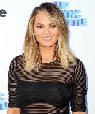 Chrissy Teigen's Hair Is a Testament to Summer Bangs