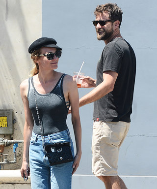 Diane Kruger and Joshua Jackson Coordinate in Sneakers While Out Together in L.A.
