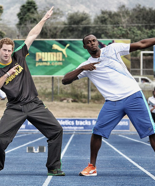 Prince Harry Challenges Olympic Sprinter Usain Bolt to a Rematch–and the Gold Medalist Accepts