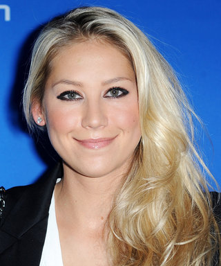 Anna Kournikova Sizzles in a Tiny Red-Hot String Bikini