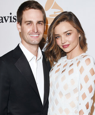 Miranda Kerr and Her New Fiancé Evan Spiegel Solidify Their Love with Adorable Selfie