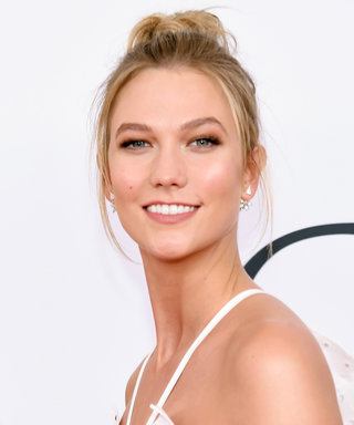 Karlie Kloss's Camo Jumpsuit Stands Out on the Streets of N.Y.C.