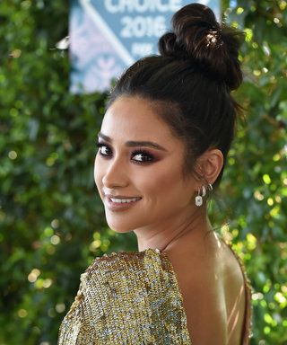 Shay Mitchell Takes the High Ponytail to New Heights