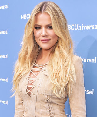 Khloé Kardashian Gives Us #Fitspo Stepping Out in a Plunging Sports Bra