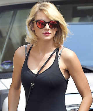 Taylor Swift Is a Sheer Delight in Another Athleisure Outfit