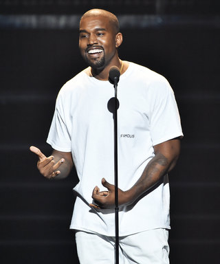 """See Kim Kardashian West Lovingly Support Kanye from the Audience as He Debuts """"Fade"""" Video at 2016 VMAs"""